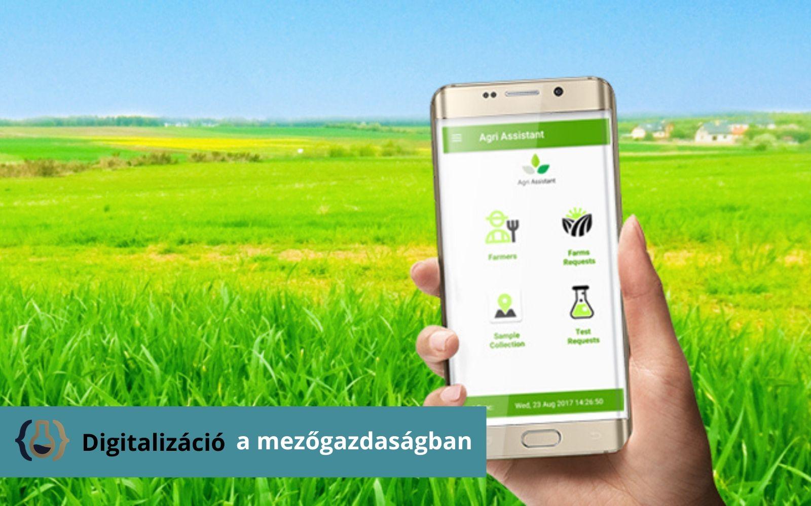 Digitalizáció a mezőgazdaságban