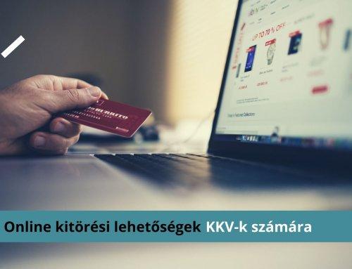 Online kitörési lehetőségek KKV-k számára