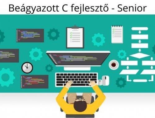 Beágyazott C fejlesztő – Senior