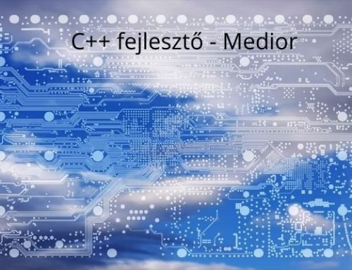C++ fejlesztő – Medior