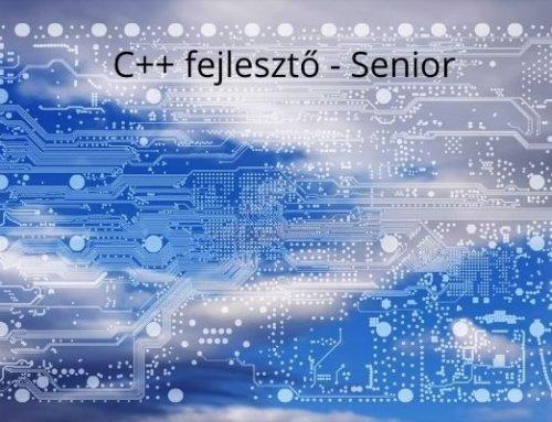 C++ fejlesztő – Senior