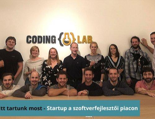 Itt tartunk most – CodingLab, Startup a szoftverfejlesztői piacon