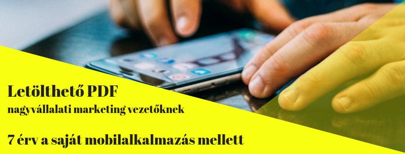 mobil alkalmazás készítés