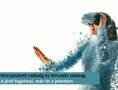 Kiterjesztett valóság és Virtuális valóság, a jövő fogalmai. De melyik micsoda?