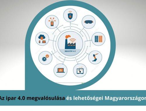 Az ipar 4.0 megvalósulása Magyarországon és a benne rejlő lehetőségek – gyakorlati példákkal