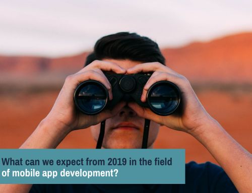 What can we expect from 2019 in the field of mobile app developing?